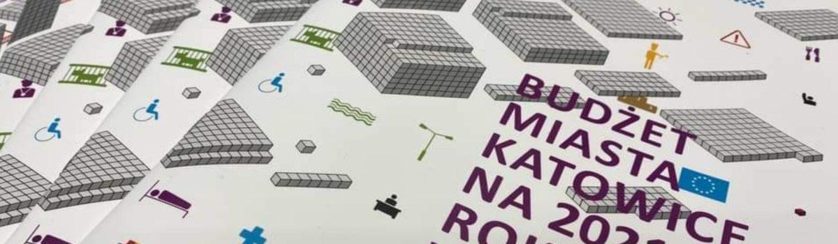 Budżet Katowic na 2021 rok w pigułce