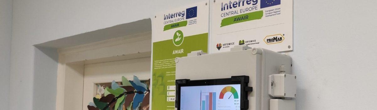 Czujniki monitorujące jakość powietrza wewnętrznego w Katowicach