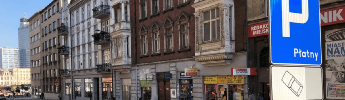 Nowa polityka parkingowa w centrum Katowic